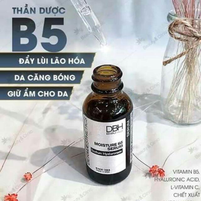 Review Serum đưỡng ẩm DBH Moisture B5