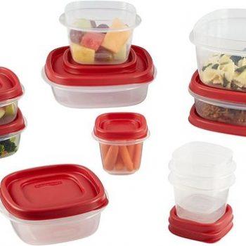 Set hộp đựng thực phẩm an toàn Rubbermaid