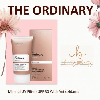 Kem chống nắng The Ordinary Mineral UV Filters SPF 30 with Antioxidants